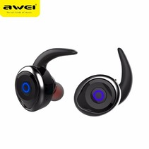 T1 Mini True Bluetooth In-ear Oordopjes - Zwart