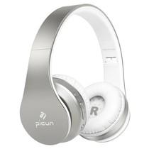 P16 Mega Bass Bluetooth Koptelefoon - Zilver + Wit