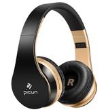 PICUN PICUN P16 Mega Bass Bluetooth Koptelefoon - Goud + Zwart