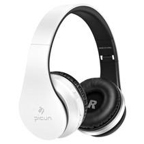 P16 Mega Bass Bluetooth Koptelefoon - Wit + Zwart