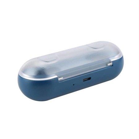 TWS16 Bluetooth 4.2 In-ear Oortjes met Oplaadstation - Blauw
