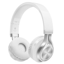 Bluetooth Mega Bass Koptelefoon met Noise Cancelling - Wit