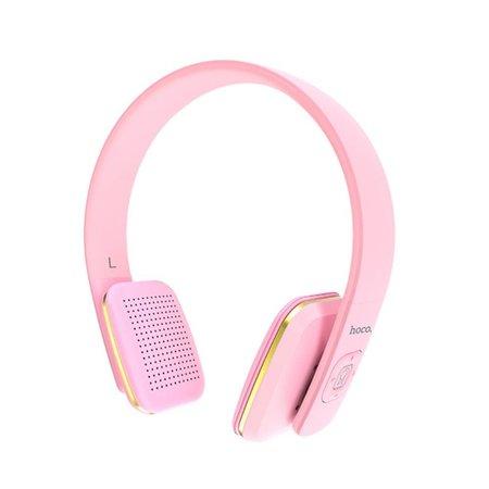 HOCO HOCO W9 Bluetooth Over-ear Koptelefoon - Roze