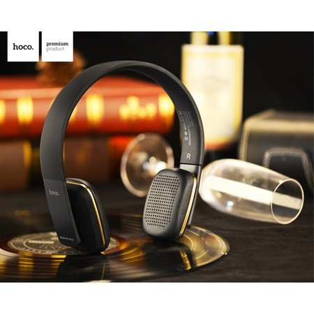 HOCO HOCO W9 Bluetooth Over-ear Koptelefoon - Zwart