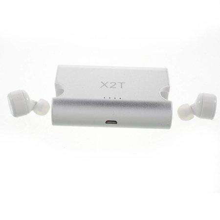 X2T In-ear Bluetooth 4.2 Oortjes met 1500mAh Oplaadstation