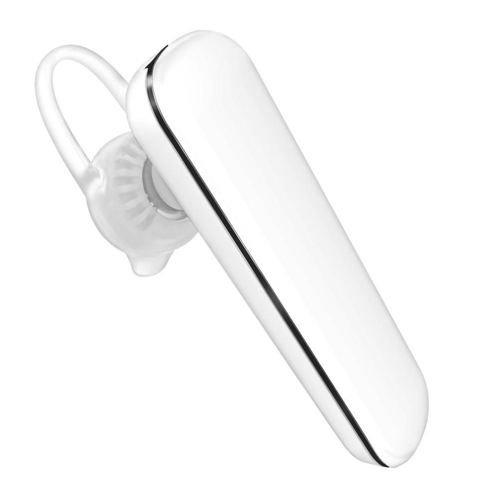 VOUNI VOUNI Single Bluetooth Headset met CVC 6.0 Noise Reduction - Wit