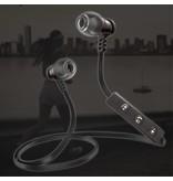 Pulse Series Radiation-proof Bluetooth In-ear Oortjes - Zwart