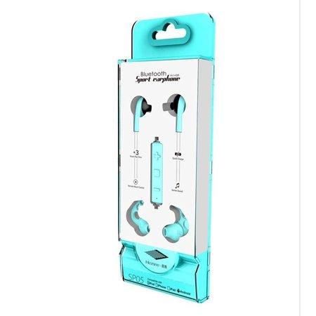 MEZONE MEZONE SP05 CSR Bluetooth Sport Earbuds - Cyaan
