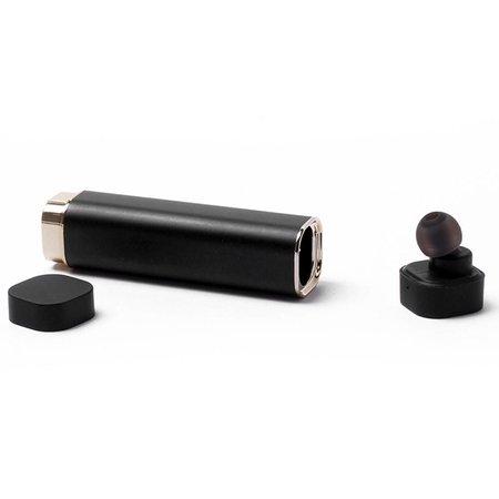 K1 2-In-1 Bluetooth Headset + Oplaadstation - Zwart