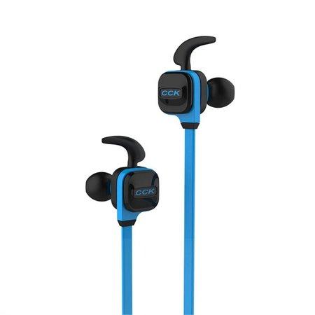 CCK-KS Line-in Control Bluetooth 4.1 Sport Oortjes - Blauw