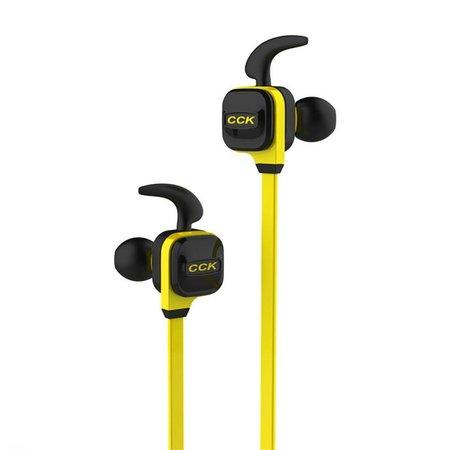 CCK-KS Line-in Control Bluetooth 4.1 Sport Oortjes - Geel