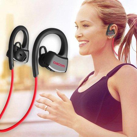 DACOM DACOM P10 Bluetooth Sport Earbuds Waterdicht - Rood