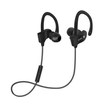 Bluetooth V4.1 Headphones met Oorhaak (BTH-H5) - Zwart