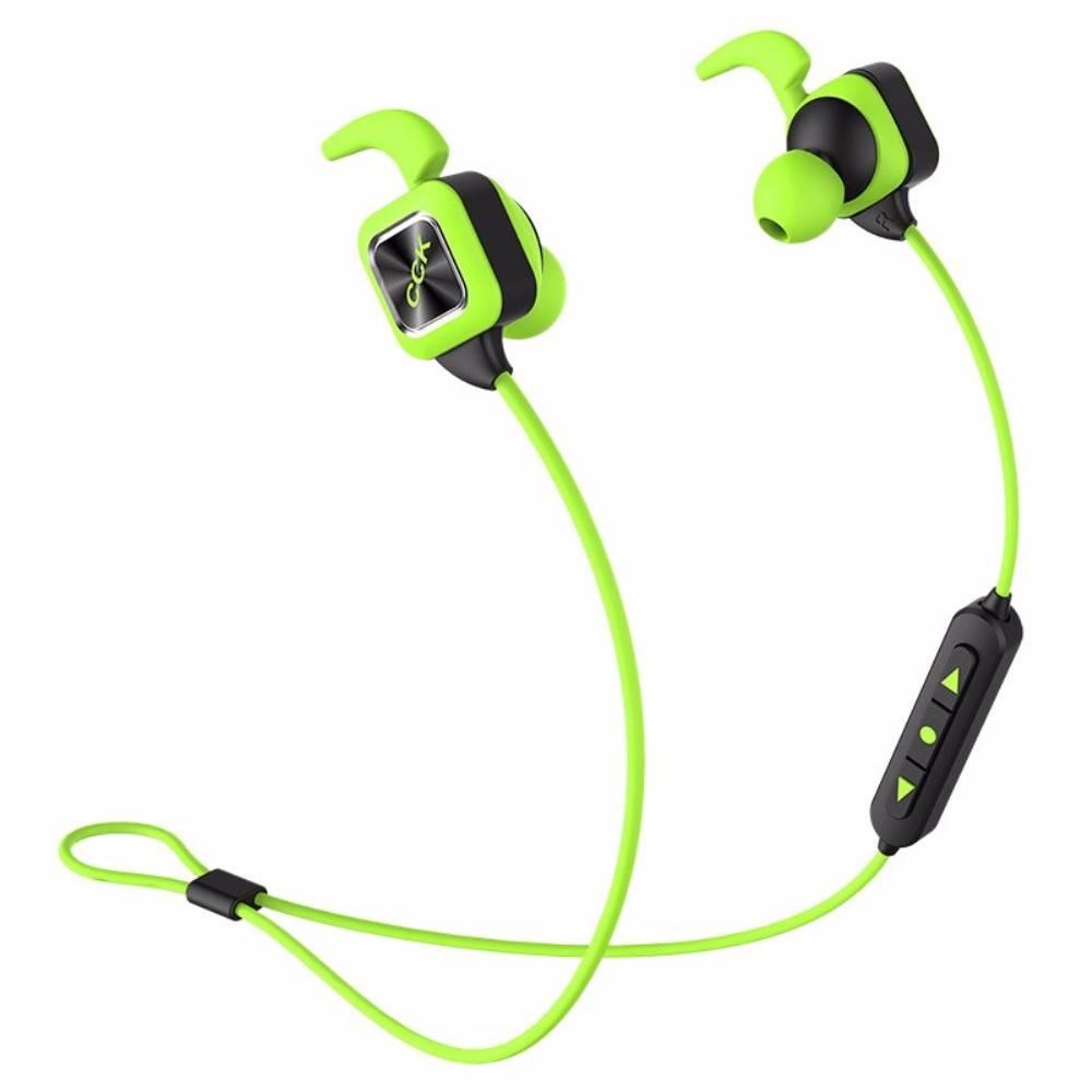 CCK KS Plus Draadloze Sport Oortjes (Dual-batterijen) - Groen
