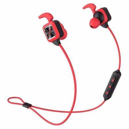CCK KS Plus Draadloze Sport Oortjes (Dual-batterijen) - Rood