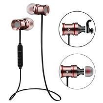 Bluetooth Hi-Fi Sport Oordopjes en Magneet - Rosé Goud