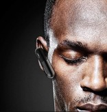 USAMS USAMS LO Series Bluetooth 4.1 Headset - Zwart