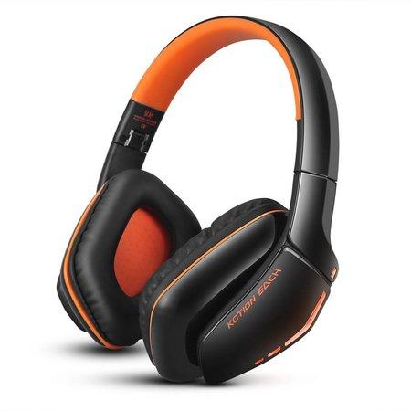 KOTION KOTION B3506 Bluetooth V4.1 Gaming Koptelefoon - Oranje