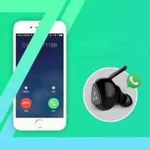 Bluetooth In-ear Oortje met Oplaadstation
