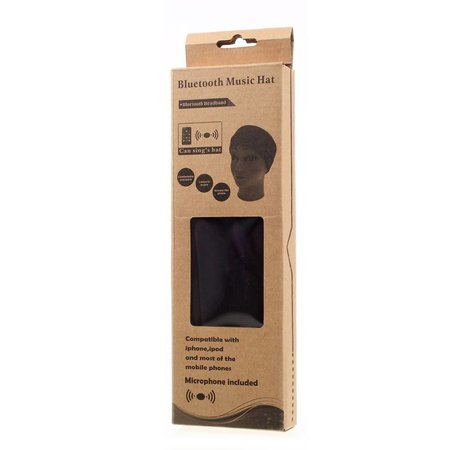 Sport Hoofdband met Built-in Bluetooth Oortjes en Microfoon