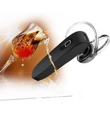Bluetooth 4.0 In-ear Headset met Oorhaakje - Zwart