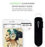 168 Bluetooth 4.0 Headset - Zwart