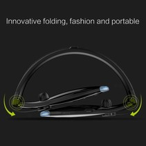 H1 Sport Bluetooth Nekband In-ear Headset - Zwart