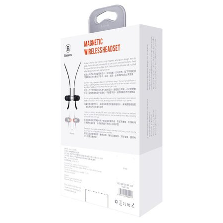 BASEUS BASEUS B11 Licolor Magneet Bluetooth Oordopjes - Zwart