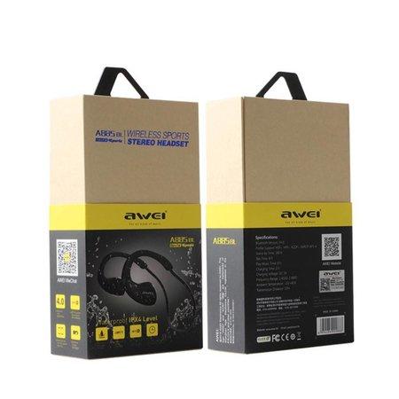 AWEI AWEI Bluetooth Oortjes met NFC en IPX4 Waterproof - Zwart