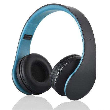 BTH-811 Bluetooth Koptelefoon - Blauw / Zwart