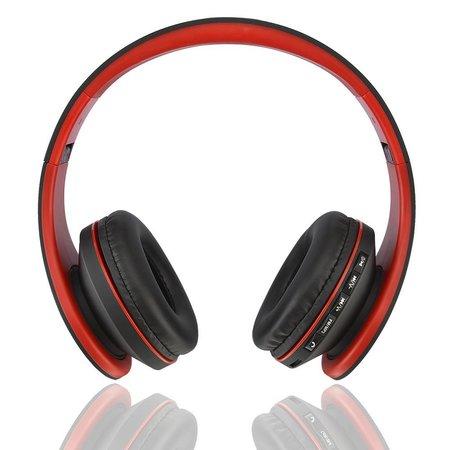 BTH-811 Bluetooth Koptelefoon - Zwart / Rood