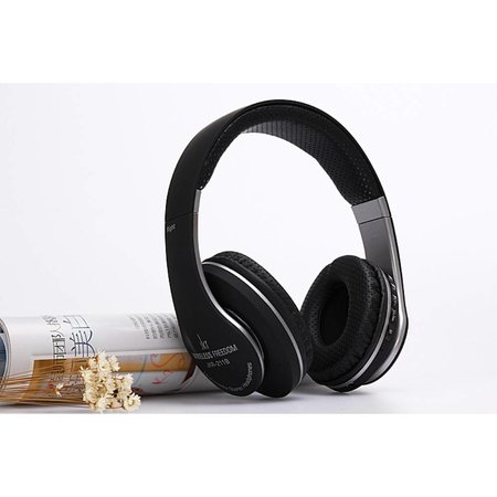 KR-211B Bluetooth Over-ear Koptelefoon - Zwart