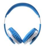 JKR-213B Bluetooth Over-ear Koptelefoon - Blauw