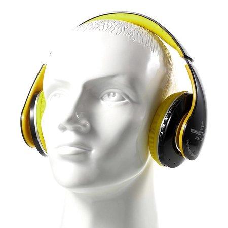 JKR-213B Bluetooth Over-ear Koptelefoon - Geel
