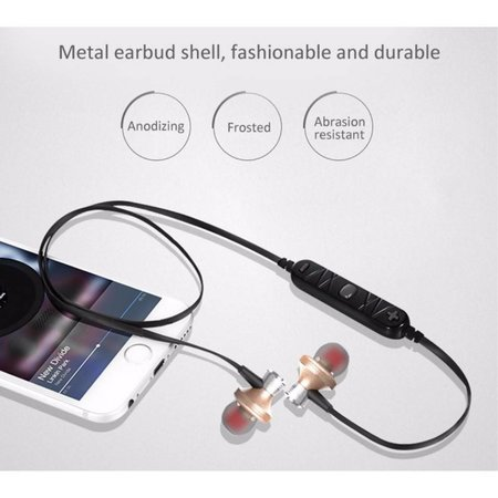 AWEI AWEI A860BL Sport Bluetooth In-ear Oordopjes - Goud