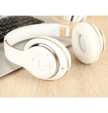 PICUN PICUN BT-09 Bluetooth Over-ear Hoofdtelefoon - Wit / Goud