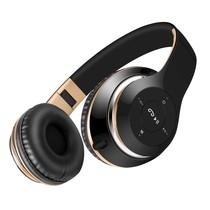 BT-09 Bluetooth Over-ear Hoofdtelefoon - Zwart / Goud
