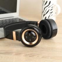 P6 Bluetooth 4.0 Over-ear Koptelefoon - Zwart / Goud