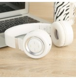 PICUN PICUN P6 Bluetooth 4.0 Over-ear Koptelefoon - Wit / Zilver