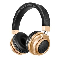 Bluetooth On-ear Koptelefoon - Goud / Zwart