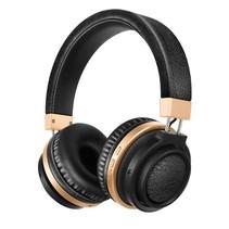 Bluetooth On-ear Koptelefoon - Zwart / Goud