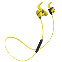 Sport Bluetooth 4.1 In-ear Earphones - Geel