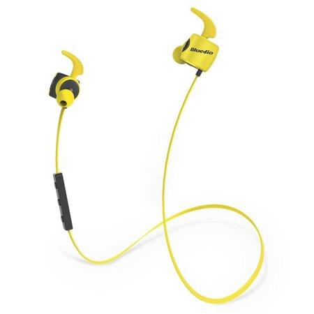 BLUEDIO BLUEDIO Sport Bluetooth 4.1 In-ear Earphones - Geel