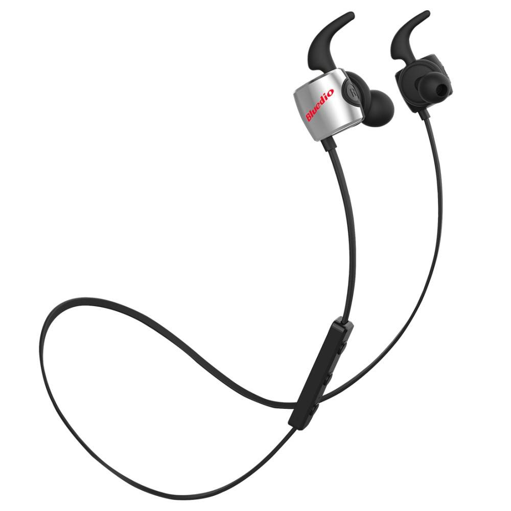 BLUEDIO BLUEDIO Sport Bluetooth 4.1 In-ear Earphones - Zwart