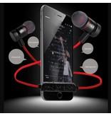Vbit Vbit M9 Metalen Sport Bluetooth 4.1 In-ear Headphone - Rood