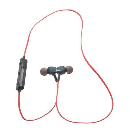 M6 Metalen CSR Bluetooth 4.1 In-ear Sport Oortjes - Rood