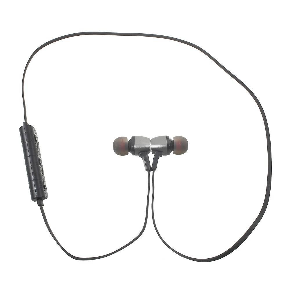 M6 Metalen CSR Bluetooth 4.1 In-ear Sport Oortjes - Zwart
