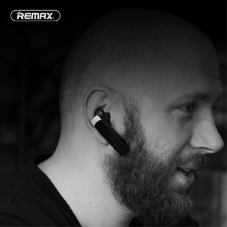 REMAX REMAX T9 Bluetooth Single Headset - Zwart