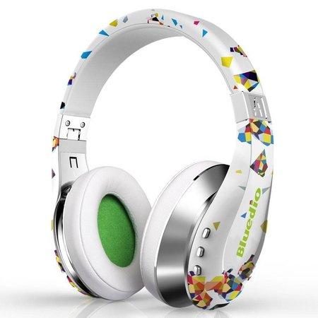 BLUEDIO BLUEDIO A (Air) Bluetooth 3D Sound Koptelefoon - Wit