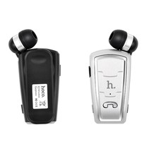 Kraag Clip-on Bluetooth Oortje - Zilver